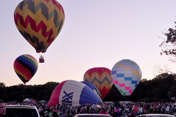 Plainville Fire Company Hot Air Balloon Rally 2010