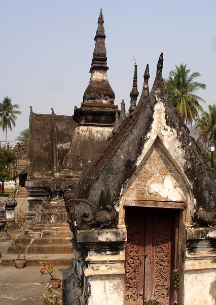 a monastery temple, Luang Prabang, Laos