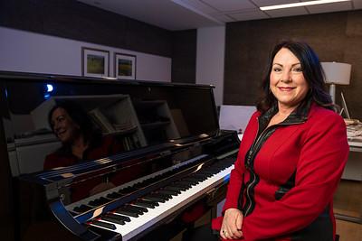 56802 Ginger Minneman Playing Donated Piano 4-15-21