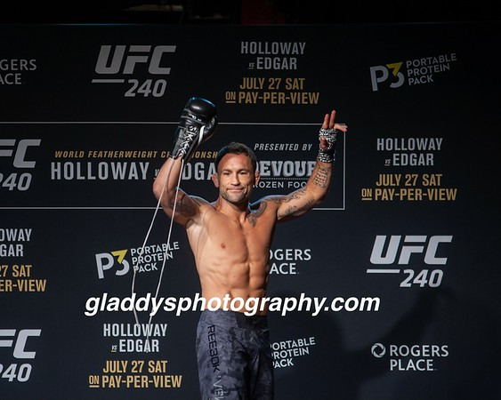 UFC240-Open Workouts