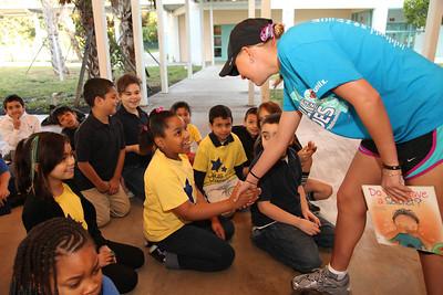 """01-18-12 """"Safer, Smarter Kids"""" Ojus Elementary in Miami by Omar Vega"""