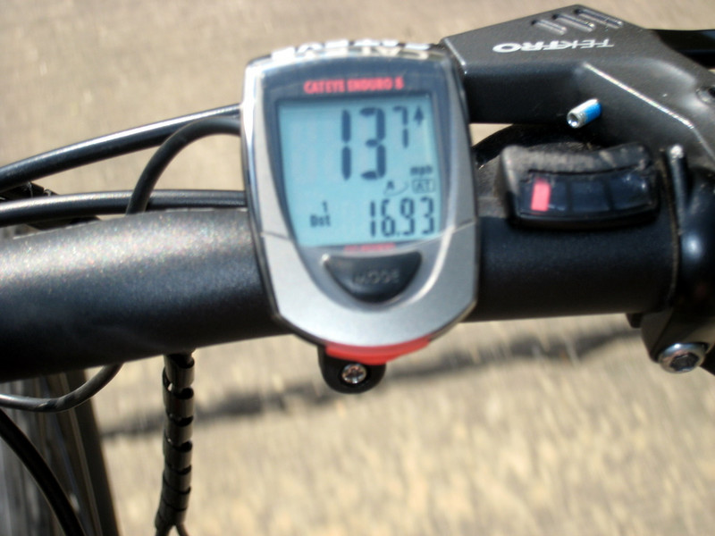 Pictures at 13.7 mph.