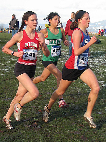 2005 Canadian XC Championships - Biewald, Johnson and Shaw - it's starting to hurt