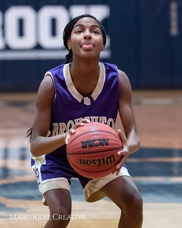Broughton JV girls basketball vs Millbrook. January 22, 2019. 750_5532
