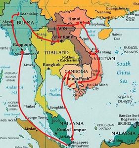 se asia map 2017