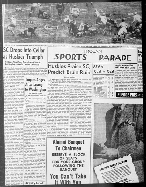 Daily Trojan, Vol. 33, No. 43, November 05, 1941