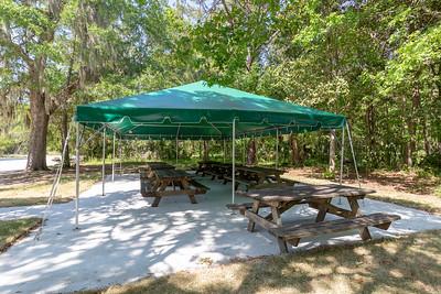JICP funyard tent