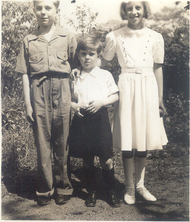 1941: George F Frost, Gerard Frost, Gertrude Yarzab.