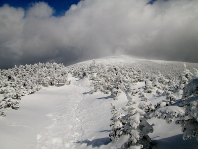 Moosilauke winter hike