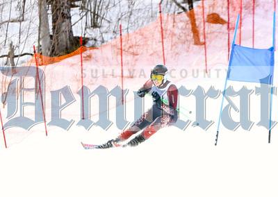 Skiing at Belleayre 2016