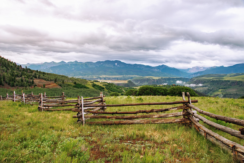 View towards Telluride