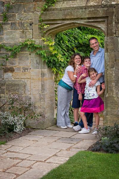 David and Family at Nymans