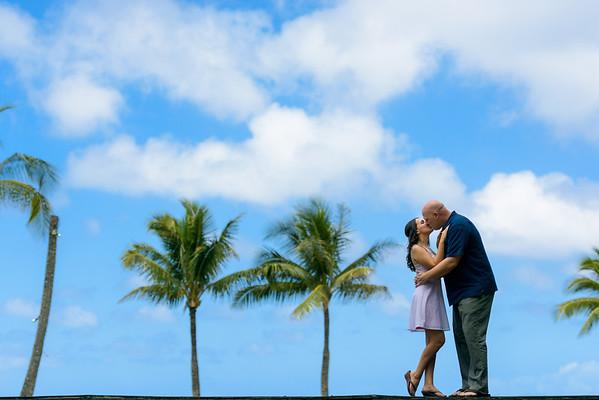 Priscilla and Kris (Engagement Photography) @ Honolua Bay & Ritz Carlton, Maui