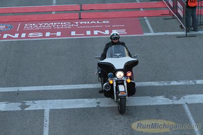 Men at 10.2 Mile Mark - 2012 US Olympic Trials Marathon