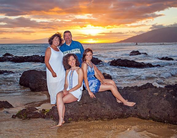 Guzman family Maui vacation