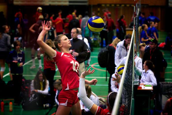 Skåne vinner distrikts-SM i volleyboll 2015