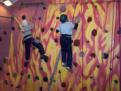 2004-03-10 Indoor Climbing at Stafford