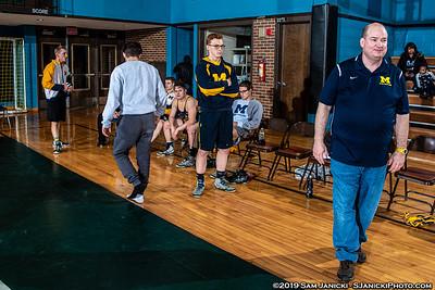 3rd Place - Michigan WC Vs Toledo - GLC Duals (NCWA) - 11-23-19