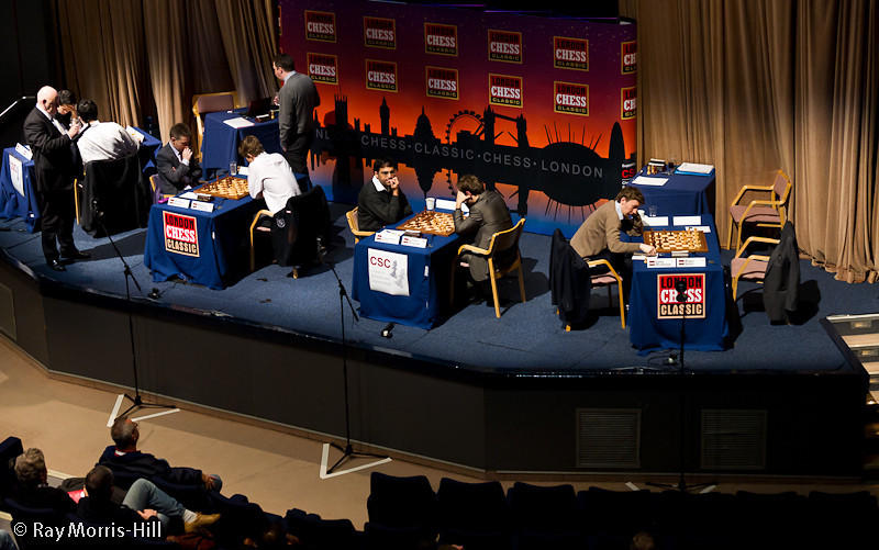 Round 7 of the London Chess Classic