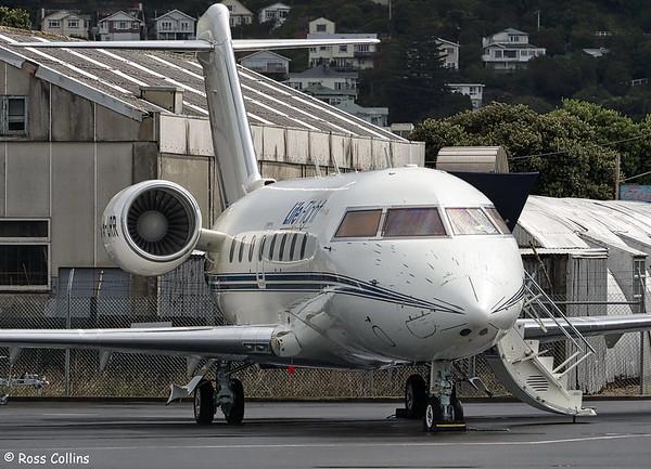 Life Flight Rescue Challenger 604 at Wellington 2019