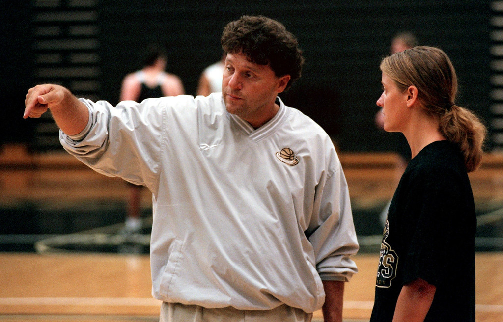 . Jennifer Johntson, the new OU men\'s assistant basketball coach for coach Greg Kampe. She\'s the oly female in Division 1 men\'s coaching.