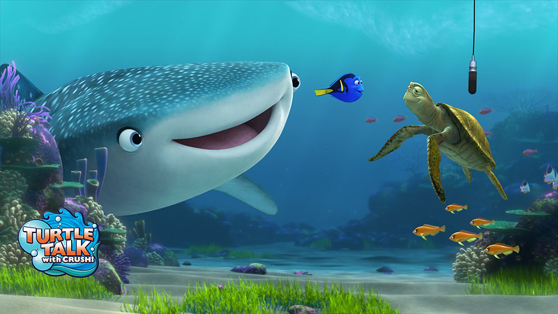 """Disney confirms """"early May"""" debut for FINDING DORY additions for TURTLE TALK at Epcot"""
