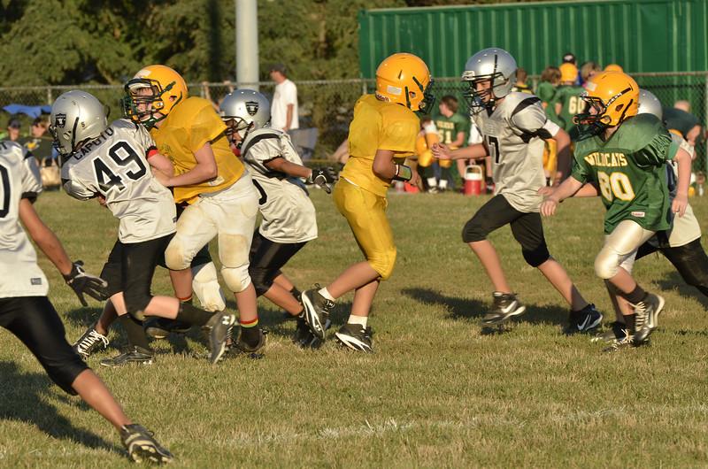 Wildcats vs Raiders Scrimmage 161.JPG