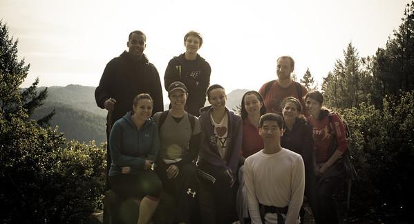 Hiking (Big Basin 7 Miles) 01/02/12