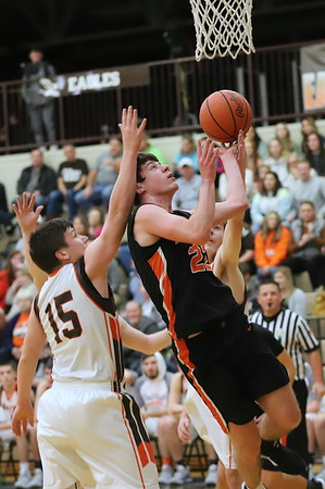 09V Boys Basketball:  Wheelersburg at Eastern 2020