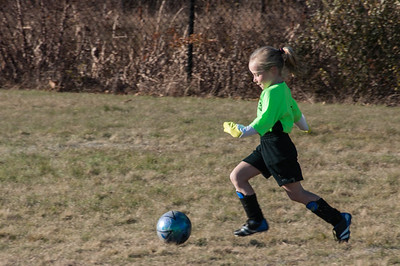 Raegan soccer