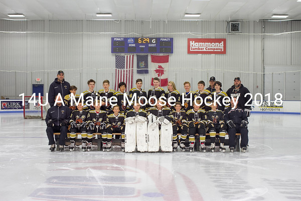 Maine Moose Hockey 14U A
