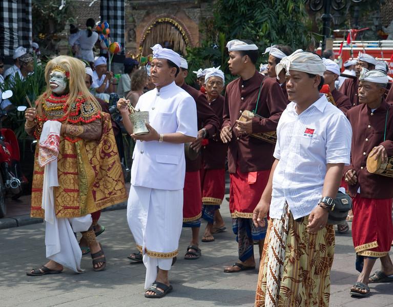 Procession in Ubud