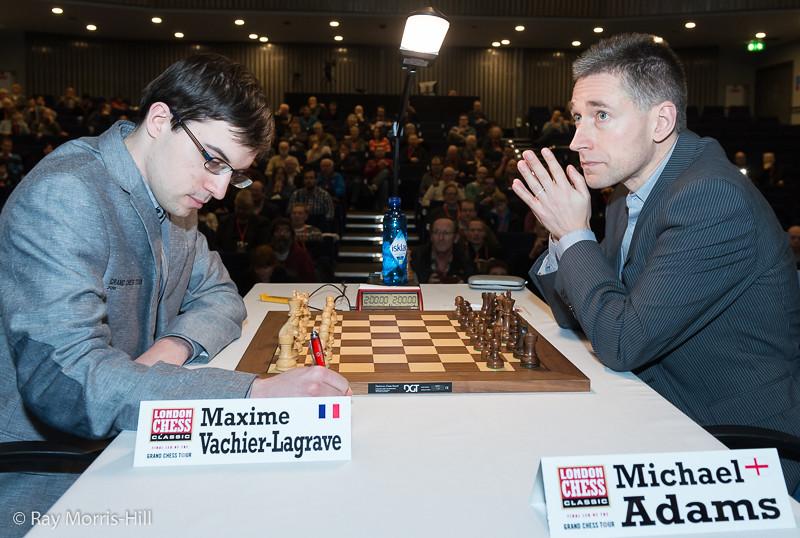 Maxime Vachier-Lagrave vs Michael Adams