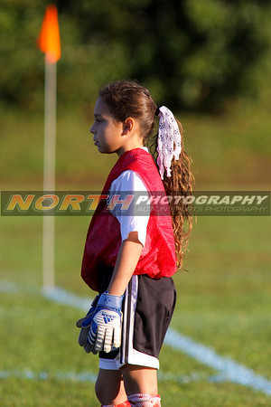 10/10/2008 (Girls U10 Red) Island Tree Green Strikers vs. Terryville Strikers