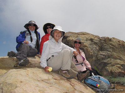 2011 (June 7)  Chief Peak, Ojai, Ventura County  (NEW PEAK)
