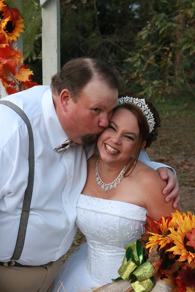 Gina Sims Cain Wedding - Frankie's Family