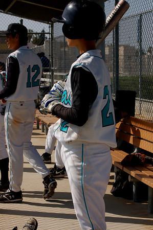 boy's baseball vz West Adams