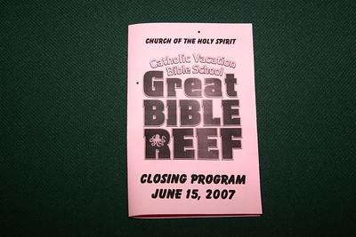Vacation Bible School Closing Program 6/15/07