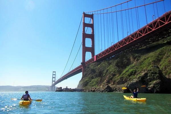 Sausalito Kayaking: Mar 15, 2014