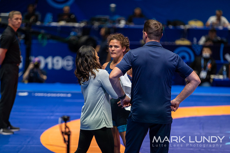 Champ. Round 1: Kayla Colleen Kiyoko Miracle (United States) over Nabira Esenbaeva (Uzbekistan)  •  TF 11-0 - 2019 World Championships