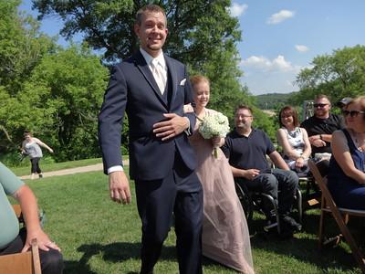 BRIAN & AMANDA PETERSON'S WEDDING JUNE 27,2015