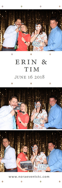 Erin & Tim (photo strips)