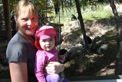 Kiersten at the zoo