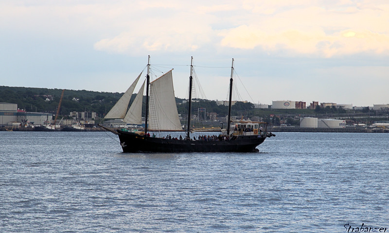 130 ft, three-masted schooner, Silva