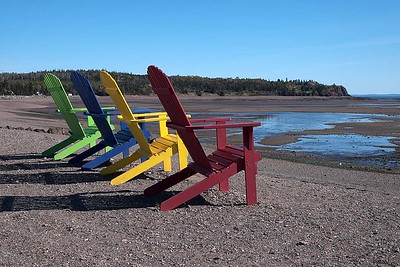 Parrsboro, Bay of Fundy