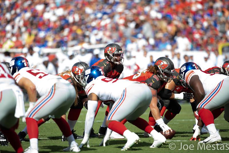 Tampa Bay Bucs vs NY Giants