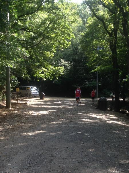 Cross Country meet at Tama Hills