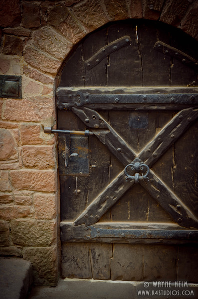Castle Door      Photography by Wayne Heim