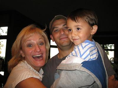 Dan-Mari-Christian visit Sept 2009