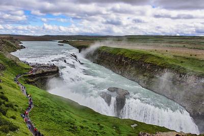 Thundering Gullifloss Falls